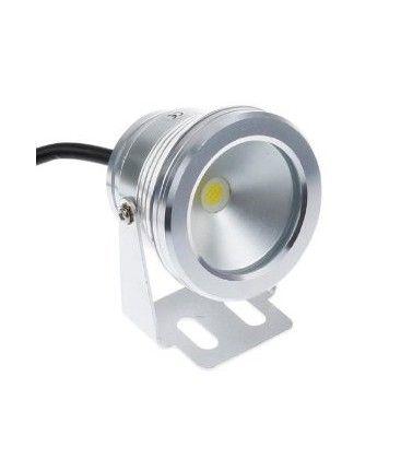 10W LED strålkastare - Varmvit, vattentät