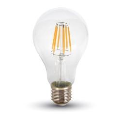 E27 LED Lagertömning: V-Tac 10W LED lampa - Filament, A67, E27