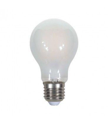 V-Tac 9W LED lampa - Filament, mattteret, E27