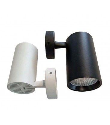 LEDlife vit väggmonteret spotlight 30W - Flicker free, RA90, till tak/vägg
