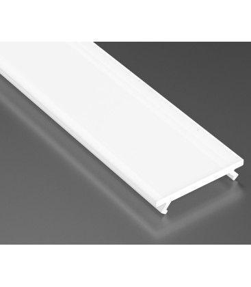 Mjölkvitt cover till aluprofil - 1 meter, passar till Type A, C, D och Z