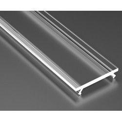 LED strip Klartt cover till aluprofil - 1 meter, passar till Typ A, C, D och Z