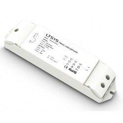 LED strip LTech 36W dimbar strömförsörjning - 12V DC, 3A, Fase+Push-dimbar, IP20