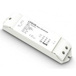 LTech 36W dimbar strömförsörjning - 12V DC, 3A, Fase+Push-dimbar, IP20