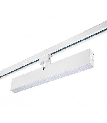 LEDlife vit lampa 40W - 3-fas skenor