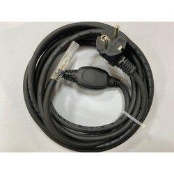 LED strip Plugg till 230V LED strip (Type Q), IP67 vattentätt - Inkl. ändstycke, 1m, 230V