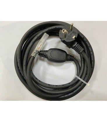 Kontakt till 230V LED strip (Type Q), IP67 vattentät - Inkl. ändstycke, 5m, 230V