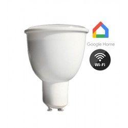 LED Lampor V-Tac 4,5W Smart Home LED spotlight - Fungerar med Google Home, Alexa och smartphones, 230V, GU10