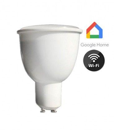 V-Tac 4,5W Smart Home LED spotlight - Fungerar med Google Home, Alexa och smartphones, 230V, GU10