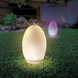 Lampor V-Tac RGB+W LED æg - Solcelle, Ø18,8 cm