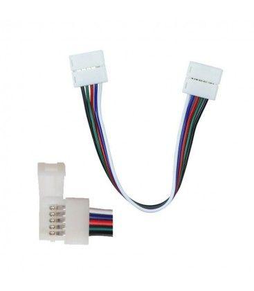 RGB+WW LED strip skarv - 12V / 24V