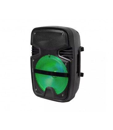 15W partyhögtaler - Uppladdningsbart, Bluetooth, RGB, inkl. mikrofon