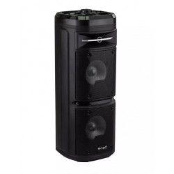 Diverse Partyhögtaler på hjul - 30W, uppladdningsbart, Bluetooth, RGB, inkl. mikrofon