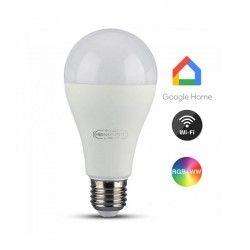Smart Home Enheder V-Tac 15W Smart Home LED lampa - Verk med Google Home, Alexa och smartaphones, E27