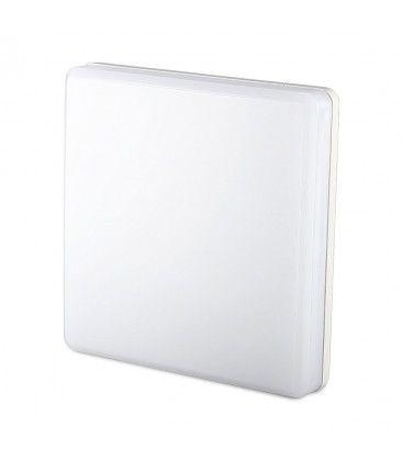 V-Tac 25W LED takarmatur - IP44, 30x30cm, 230V, inkl. ljuskälla