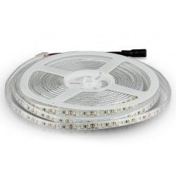LED strip V-Tac 7,2W/m stänksäker LED strip 8mm bred - 5m, 120 LED per. meter