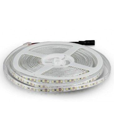 V-Tac 7,2W/m stänksäker LED strip - 5m, 120 LED per. meter