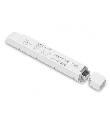 LTech 75W dimbar strömförsörjning - 12V DC, 6.25A, Fase+Push-dimbar, IP20