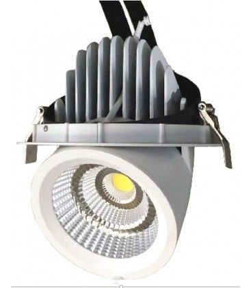 LEDlife 30W Downlight - Justerbar vinkel, 3200lm