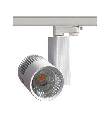 LEDlife vit skenaspotlight 31W - Philips COB, Flicker free, RA90, 3-fas