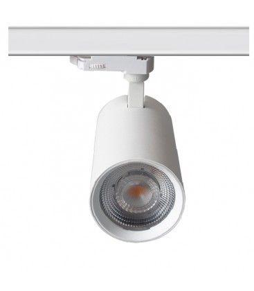 LEDlife vit skenaspotlight 28W - Flicker free, Citizen LED, RA90, 3-fas