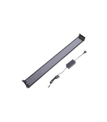 72-100 cm akvarie armatur - 18W LED, vit/blå, justerbar