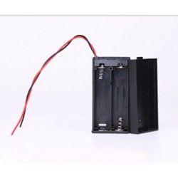Diverse Batterihållare för 2x AA - 3V