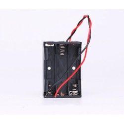 Diverse Batterihållare för 3x AA - 4.5V