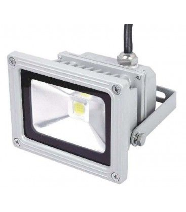 Dimbar 9W LED strålkastare - Varmvit, arbetsarmatur, utomhusbruk