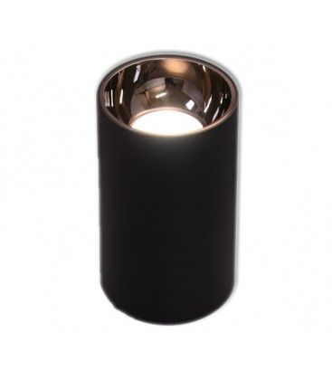 LEDlife ZOLO pendellampa - 6W, Cree LED, svart/guld, m. 1,2m sladd