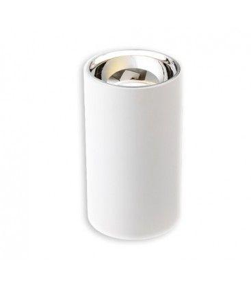 LEDlife ZOLO lampa - 6W, Cree LED, vit/silver