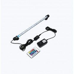 Akvarier 92 cm RGB akvarie armatur - 9W LED, med sugekuppper, IP68