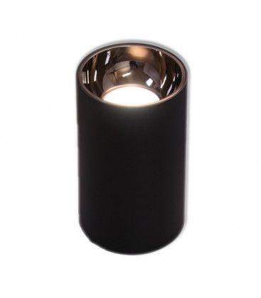 LEDlife ZOLO pendellampa - 12W, Cree LED, svart/guld, m. 1,2m sladd