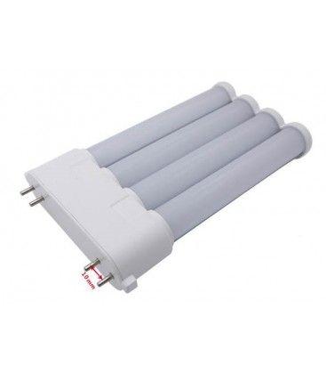 LEDlife 2G10-SMART21 HF - Direkte montering, LED lysrör, 18W, 21,7cm, 2G10