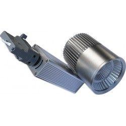 Takspotlights LEDlife grå skena spotlight 30W - Philips COB, Flicker free, RA90, 3-fas