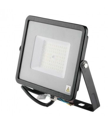 V-Tac 50W LED strålkastare - Samsung LED chip, 120LM/W, arbetsarmatur, utomhusbruk