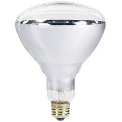 Klart E27 150W infraröd glödlampa - Varmalampa , R125