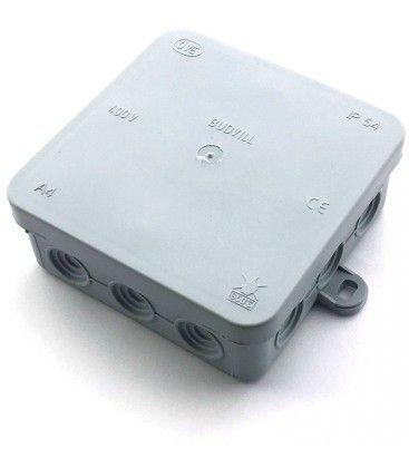 Kopplingsbox - 10 x 10 x 3,7 cm, IP54 stänksäker