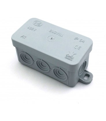 Kopplingsbox - 8,5 x 4,5 x 4 cm, IP54 stänksäker