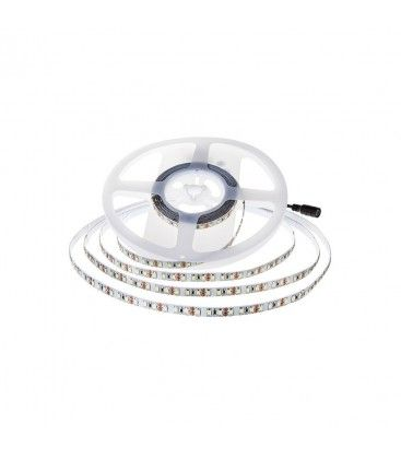 V-Tac 11W/m LED strip - 5m, 150lm/W, IP20, 24V, 168 LED per. meter