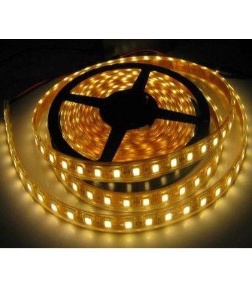 14W/m vattentät LED strip - 5m, IP68, 60 LED per. meter!
