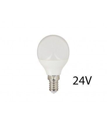 4W LED lampa - P45, E14, 24V