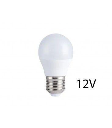 4W LED lampa - G45, E27, 12V