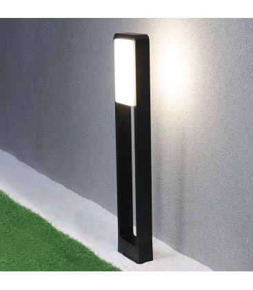 V-Tac 10W LED trädgårdarmatur - Svart, 80 cm, IP65, 230V
