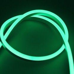 230V Neon Flex 8x16 Neon Flex LED - 8W per. meter, grön, IP67, 230V