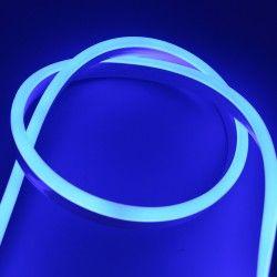 230V Neon Flex Blå 8x16 Neon Flex LED - 8W per. meter, IP67, 230V