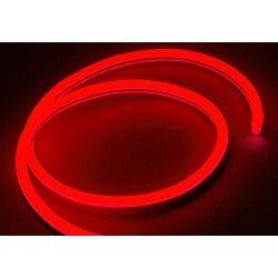 230V Neon Flex 8x16 Neon Flex LED - 8W per. meter, röd, IP67, 230V