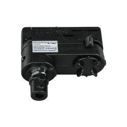Takspotlights Armaturhållare till Global skena - Svart, Passa til V-Tac skenor, 3-fas