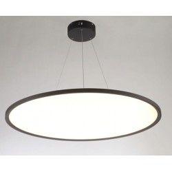 LED takpendel LEDlife 40W LED rund panel - 100 lm/W, Ø60, svart, inkl. wireupphäng