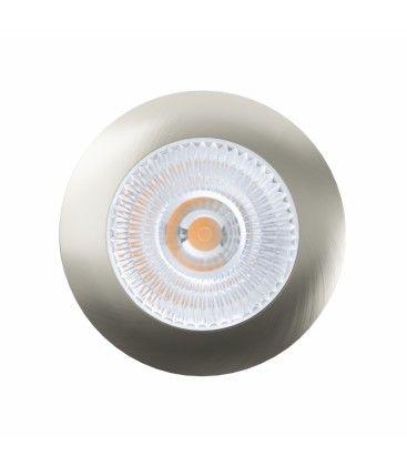 LEDlife Unni68 köksbelysning - Hål: Ø5,6 cm, Mål: Ø6,8 cm, RA95, borstad stål, 12V